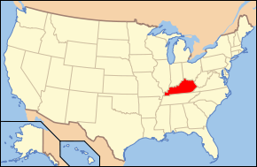 Map of USA KY.svg