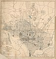 Map of the city of Washington showing the system of water supply & distribution - to accompany the annual report of Cep't J.L. Lusk, Corps of Eng'rs U.S.A. LOC 87695515.jpg