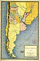 Mapa coloreado de la Republica Argentina, 1867.jpg