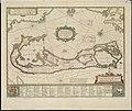 Mappa aestivarum insularum alias Barmudas dictarum, ad Ostia Mexicani aestuarij jacentium in latitudine graduum 32 minutorum 25. Ab Anglia Londino scilicet versus Libonotum 3300 Miliaribus Anglicanis, (4587172848).jpg