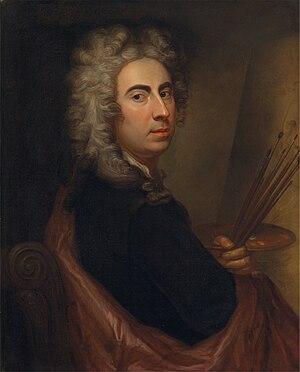 Marcellus Laroon - Self-portrait of Marcellus Laroon, ca. 1700