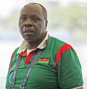 Kenya at the 2016 Summer Paralympics - Kenyan rowing coach, Marco Galeon