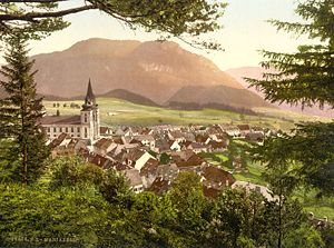 Battle of Mariazell - Mariazell as it appeared around 1900