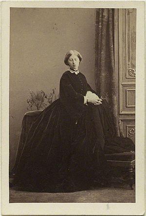 Chlodwig, Prince of Hohenlohe-Schillingsfürst - Marie, Princess of Hohenlohe-Schillingsfürst, 1860s, by Camille Silvy