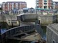 Marina lock gates - geograph.org.uk - 1609193.jpg