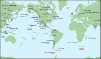 California hide trade - Key hide trading ports