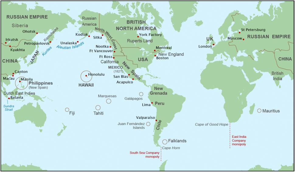 Maritime Fur Trade-WorldContext