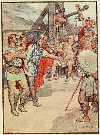 Gaius Marius - Marius and the ambassadors of the Cimbri