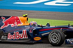 Mark Webber (Red Bull) – zwycięzca wyścigu i pole position