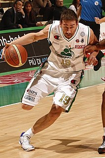 Marko Jarić Serbian basketball player