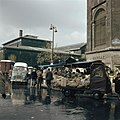 Markt bij de Eglise Saint-Eustace, Rue Montmartre, Parijs. Op de achtergrond Les, Bestanddeelnr 255-9985.jpg