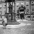 Marktplatz. Luther Márton emlékmű. Fortepan 5837.jpg