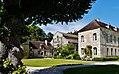 Marmagne Abtei Fontenay Hof 06.jpg