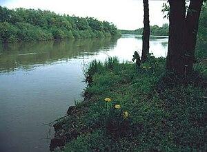 A Maros folyó.