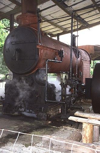 Semi-portable engine - Marshall undertype engine