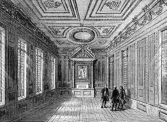Marshalsea - Inside the Marshalsea Court, 1800, part of the prison