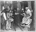 Martin Schaffner - Erster Wettenhauser Altar, Christus vor Pilatus Rückseite, Christus in der Vorhölle - 4547 - Bavarian State Painting Collections.jpg