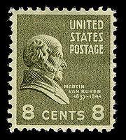 Van Buren postage stamp
