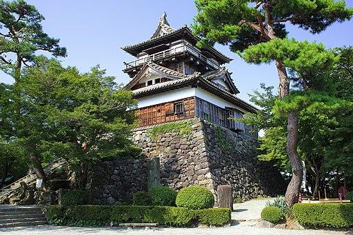 Maruoka Castle Keep Tower, Maruoka-cho Sakai 2013