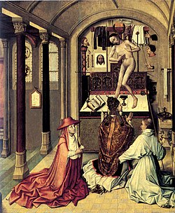 Mass of Saint Gregory (1440) by Robert Campin.jpg