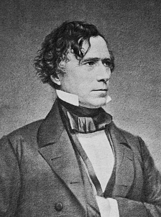 1852 United States presidential election in Massachusetts - Image: Mathew Brady Franklin Pierce crop