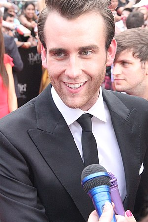 Matthew Lewis (actor) - Lewis at the New York premiere of Harry Potter and the Deathly Hallows – Part 2