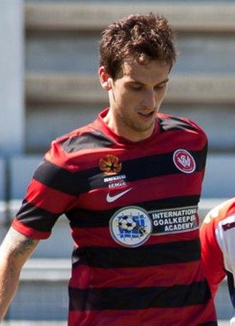 Matthew Spiranovic - Spiranovic with Western Sydney Wanderers in 2013
