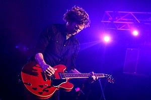 Matt Thiessen - Thiessen performing with Relient K in 2008
