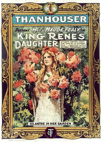 King René's Daughter - poster for the 1913 film