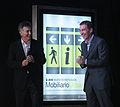 Mauricio Macri presentó el nuevo mobiliario urbano en el Museo Sívori (7020958809).jpg