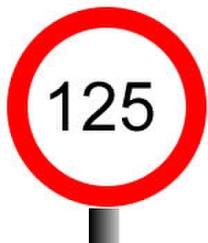 UK railway signalling - Permissible speed indicator