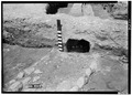 May 1958 EAST OPENING OF DRAIN FROM EAST - Fort Frederica, Barracks (Ruins), Saint Simons Island, Glynn County, GA HABS GA,64-FRED,1-12.tif