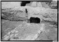May 1958 EAST OPENING OF DRAIN FROM EAST - Fort Frederica, Barracks (Ruins), Saint Simons Island, Glynn County, GA HABS GA,64-FRED,1-12.tif