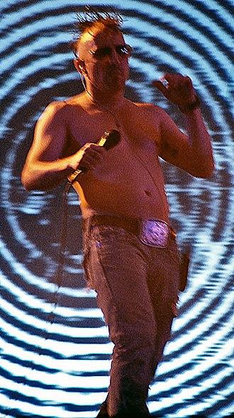 Maynard James Keenan - Keenan performing as a part of Tool at 2006's Roskilde Festival