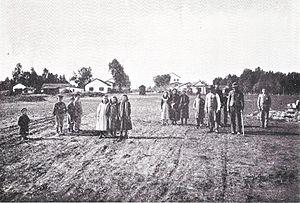 Mazkeret Batya - Mazkeret Batya in the early days, c.1899