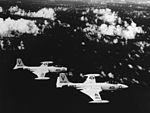 McDonnell F2H-3 Banshees of VF-114 in flight c1956.jpg