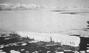 USCGC Burton Island (WAGB-283) - Image: Mc Murdo Sound Glacier iv