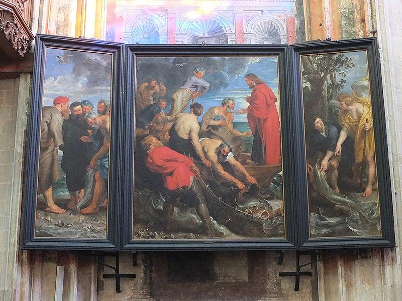File:Mechelen Peter Paul Rubens - De wonderbare visvangst - O-L-Vrouw-over-de-Dijle 01.JPG