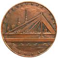 Medal. Gorky Bridge. Riga. Obverse.png