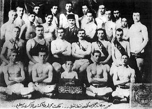 Beşiktaş J.K. - Members of Beşiktaş J.K. in 1903