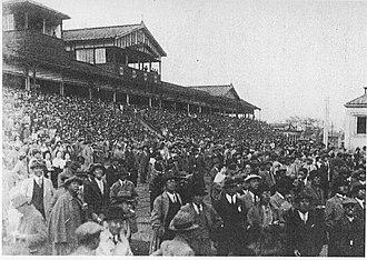 Meguro Kinen - Meguro Racecourse in 1933