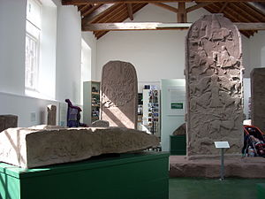 Blairgowrie and Rattray - Pictish sculptured stones at Meigle Museum