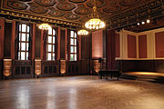 The initial recording sessions took place at Berlin's Hansa Studios in late 1990 in a former SS ballroom.
