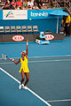 Melbourne Australian Open 2010 Venus Serve 5.jpg