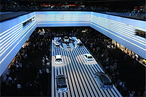 English: Mercedes-Benz at International Motor ...