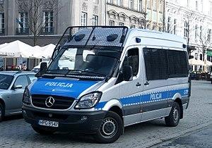 Mercedes-Benz Sprinter Policja Krakow G719