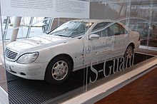 Mercedes benz s class wikipedia for Mercedes benz s guard for sale