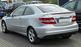 Mercedes CLC 180 Kompressor rear 20100425.jpg