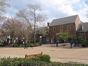 Merchants Square - Merchants Square in spring
