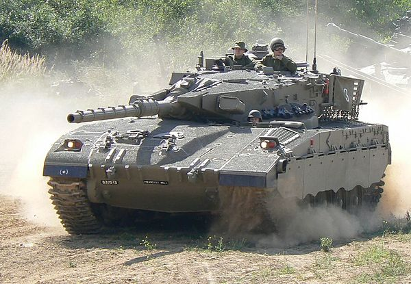 April 1979 - The Israeli developed and produced battle tank Merkava was first introduced to the IDF forces. Merkava 1-Lesany-1.jpg